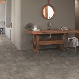 Douwes Dekker PVC Tibetaanse steen grijs 4V 0,55 mm