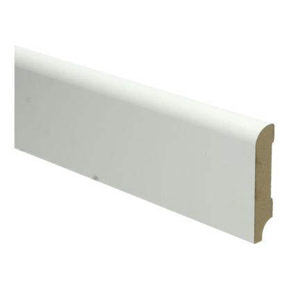 MDF Koloniale plint 70×15 wit voorgelakt RAL 9010