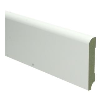 MDF Koloniale plint 90×15 wit voorgelakt RAL 9010
