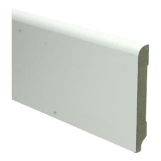 MDF Koloniale plint 120×15 wit voorgelakt RAL 9010