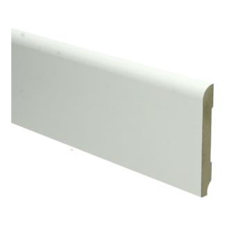 MDF Koloniale plint 90×12 wit voorgelakt RAL 9010