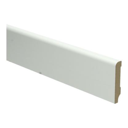 MDF Koloniale plint 60×12 wit voorgelakt RAL 9010