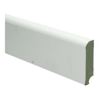 MDF Koloniale plint 76×18 wit voorgelakt RAL 9010