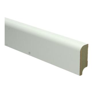 MDF Koloniale plint 58×22 wit voorgelakt RAL 9010
