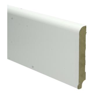 MDF Koloniale plint 120×18 wit voorgelakt RAL 9010