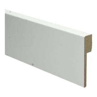 MDF Renovatieplint modern 90×18 voorgel. RAL 9010