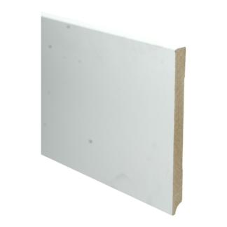 MDF Moderne plint 220×18 wit voorgelakt RAL 9010