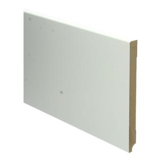 MDF Moderne plint 190×15 wit voorgelakt RAL 9010