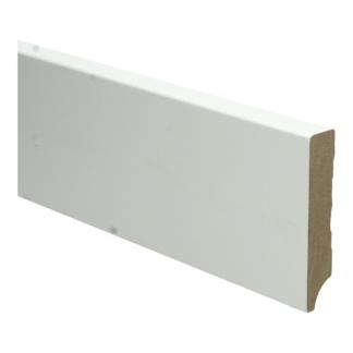 MDF Moderne plint 90×18 wit voorgelakt RAL 9010