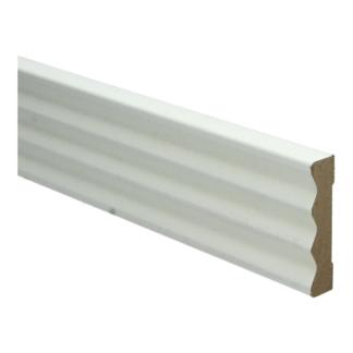 MDF Klassieke architraaf 70×15 wit voorg. RAL 9010