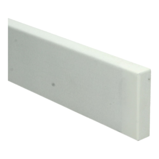MDF Moderne neut 50 cm (75×18) wit voorg. RAL 9010