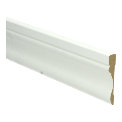 MDF Barok architraaf 70×12 wit voorgelakt RAL 9010