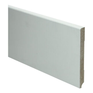 BL MDF plint 120×12 V313 wit gegrond recht