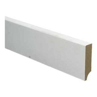 BL MDF plint 70×15 V313 wit gegrond recht