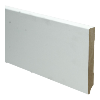 BL MDF plint 120×15 V313 wit gegrond recht
